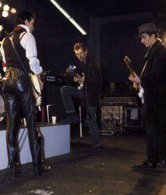 Joe Strummer, Paul Simonon and Mick Jones