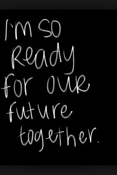I need to begin this thing between us.