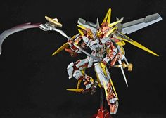 GUNDAM GUY: MG 1/100 Gundam Astray Frame D - Custom Build