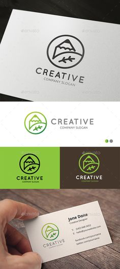Creative Green  EPS Logo Template • Download ↓ https://graphicriver.net/item/creative-green/12795812?ref=pxcr