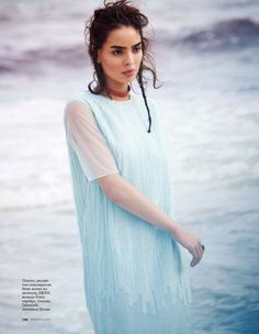 """Dreaming of Dior: """"Ocean Dream"""" Sabrina Nait for ELLE Russia May 2015"""