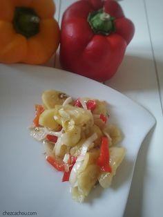 Salade Weight Watchers, Weight Watchers Program, Gluten, Stuffed Peppers, Vegetables, Cooking, Pot Mason, Conservation, Food
