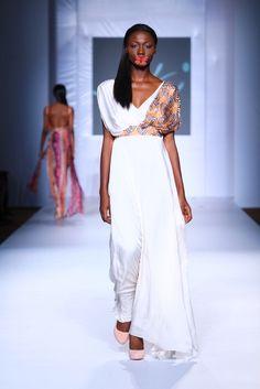 MTN Lagos Fashion & Design week: Spring/Summer 2013 Eki Orleans