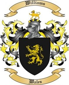 williams coat of arms in wales - Google Search