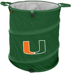 Fan shop gameday tailgating on pinterest nfl miami hurricanes - Collapsible waste basket ...