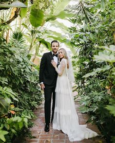 """Carats & Cake on Instagram: """"The romanticism of an Old-World aesthetic with disco balls and a custom @brockcollection gown—iconic. Saying I-DO at #California's famous…"""" Wedding Attire, Wedding Dresses, Romanticism, Old World, Gowns, Instagram, Fashion, Bride Dresses, Vestidos"""