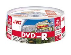 Introducing JVC DVDR 47Gb Spindle 25 Printable discs recordable blank media. Great product and follow us for more updates!