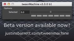 tweenMachine Beta Preview