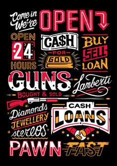 Pawn Shop on Behance