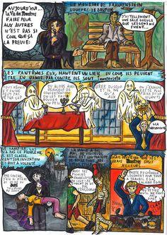 La Vie des Monstres by Firya on DeviantArt Bd Comics, Les Oeuvres, Comic Books, Deviantart, Illustrations, Illustration, Cartoons, Comics, Comic Book