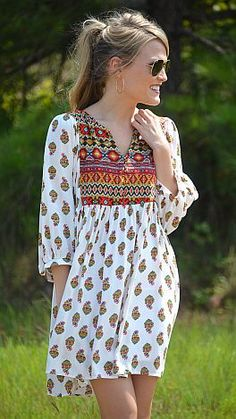 Fall in Love Dress :: NEW ARRIVALS :: The Blue Door Boutique