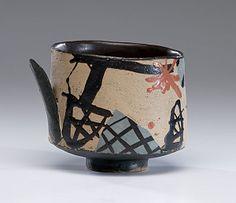 Masterworks: John Maltby Vessel with Handle. ca. 1985. (6/4/2011 - Cowan's+Clark+DelVecchio Ceramics Auction)