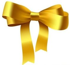 Simple Yellow Gift Ribbon Bow Free Vector @freebievectors    http://www.freebievectors.com/en/illustration/1151/yellow-ribbon-bow/