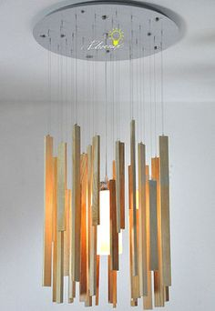 Browse Project Lighting and Modern Lighting Fixtures For Home Use Modern Hanging Original Wood Pendant lighting 9846 - Modern Hanging Original Wood Pendant lighting X of canopy:white/stainlessCap Chandelier Pendant Lights, Shop Lighting, Pendant Lighting, Wood Pendant, Modern Pendant, Modern Lighting Design, Elements Of Design, Wood Pendant Light, Modern