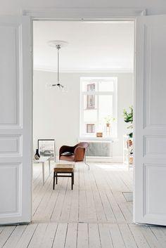 white + rustic home