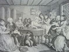 William Hogarth A Harlot's Progress, 1732. Plate 6.