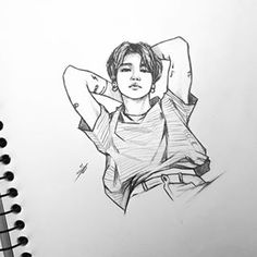 Swipe for twinsies 🐨 finally found some quiet time to sketch on my holiday 😊💕 Kpop Drawings, Pencil Art Drawings, Art Drawings Sketches, Realistic Drawings, Sketch Drawing, Jimin Fanart, Kpop Fanart, Draw Bts, Desenhos Love