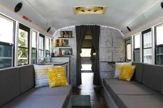 8 Students Renovated An Old School Bus. What It Turned Into Is Incredible. – Page 58 of 60 – Grizly