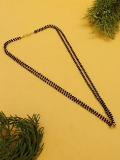 This Charming Simple Mangalsutra Necklace Is Neat And Simple For Those Who Wish For Light Jewelry Collection. Match This Jewelry With Any Of Your Outfit And Flaunt Your Style 1 Gram Gold Jewellery, Temple Jewellery, Gold Jewelry, Fashion Jewelry Stores, Fashion Jewellery, Golden Color, Festival Wear, Ethnic Jewelry, Ruby Red