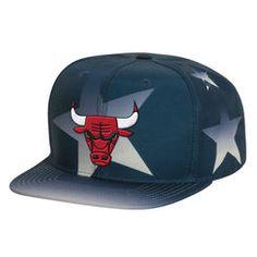 Men s Mitchell  amp  Ness Navy Chicago Bulls Award Ceremony Snapback  Adjustable Hat Chicago Bulls a80bbd5e273
