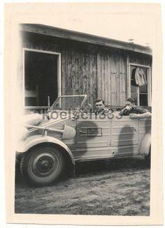 Foto Kübelwagen VW Typ 82 PKW Südfront Tarnlackierung DAK Afrika Tarnung 1943   eBay