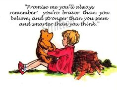 Winne the Pooh and Christopher Robin Quote 4x6 by SmittensDesigns, $5.00