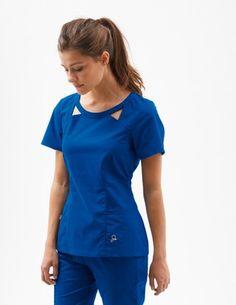Women's Scrubs Tops – Medical Scrubs by Jaanuu Scrubs Uniform, Scrubs Outfit, Scrubs Pattern, Beauty Uniforms, Medical Scrubs, Nursing Scrubs, Cute Scrubs, Work Dresses For Women, Womens Scrubs