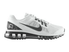 Nike Air Max 2013 Chaussures Nike Pas Cher Homme Blanc/gris foncé 554886-104