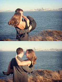 San Francisco #engagement.   Llore Photography