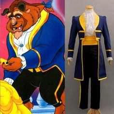 New Beauty and the Beast Prince Adam Cosplay Costume  Any Size #Unbranded #Uniform