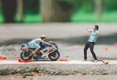 Un photographe de mariage transforme les couples en personnes miniatures - page 5