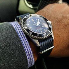 Vintage Rolex, Vintage Watches, Steinhart Ocean One, Steinhart Watch, Timing Is Everything, Rolex Gmt Master, Nato Strap, Beautiful Watches, Chronograph