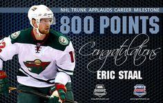 Eric Staal, Minnesota Wild • December 11, 2016 • NHLTrunk.com