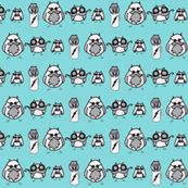 Manly Owls - kbexquisites - Spoonflower