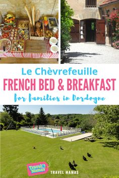 For an idyllic vacation in the French countryside, look no further than Le Chèvrefeuille in Dordogne. This unique inn in South West France welcomes families with a saltwater pool, an abundance of toys, delicious food and cuddly animals. Read this review to learn more! #france #dodordogne #bedandbreakfast #travelwithkids Traveling With Baby, Travel With Kids, Family Travel, Family Vacation Destinations, Cruise Vacation, Romantic Vacations, Romantic Getaways, Girlfriends Getaway, French Bed