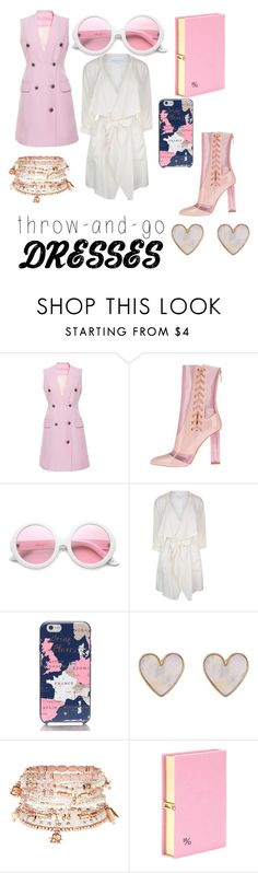 """Untitled #33"" by aja-witherspoon ❤ liked on Polyvore featuring ZeroUV, Patrizia Pepe, Kate Spade, New Look, Accessorize and Olympia Le-Tan"