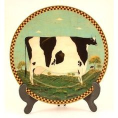Lenox Holstein Cow by Warren Kimble