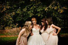 Bride and bridesmaids- beautiful!