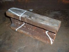 Making a small anvil. (Lots of pictures): Making a small anvil. (Lots of pictures): Welding Table, Metal Welding, Forging Metal, Welding Art, Metal Projects, Welding Projects, Metal Crafts, Welding Crafts, Art Projects