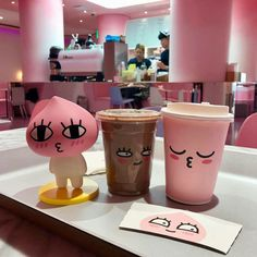 ⋆›iiiiffff‹⋆ #CoffeeBeans Milkshake, Cute Food, Yummy Food, Tasty, Cute Desserts, Line Friends, Bubble Tea, Aesthetic Food, Milk Tea