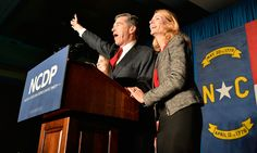 The North Carolina governor's election is still going on