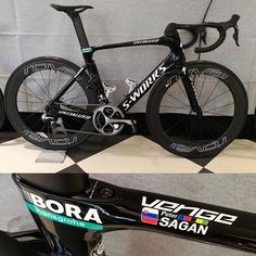 Peter Sagan's Specialized S-Works Venge for 2017 at Bora-Hansgrohe.