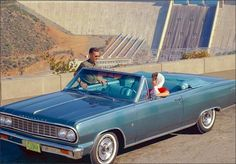 1964 Chevrolet Chevelle Malibu Convertible (and the Hoover dam!)