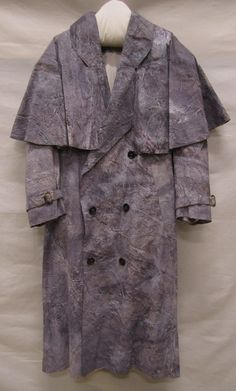 Achmed Millarson, 1987, Gemeentemuseum Den Haag. #modemuze #gemeentemuseum #trenchcoat