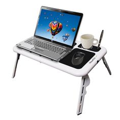 #PriceAbate Absolutely FREE New Laptop USB Folding Table w/2 Cooling Fan+Mouse Pad!