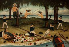 "#OKLsummer -- ""Lobster Picnic"" by Ralph E. Cahoon -- a delightful New England fantasy!"