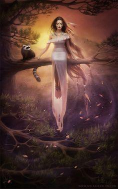 Pocahontas, by Melanie Delon