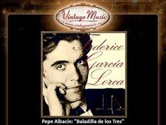 Pepe Albacín - Baladilla de los Tres (Federico Garcia Lorca)