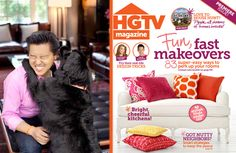 Vern Yip dishes on his drool-worthy dog room featured in HGTV Magazine. #puppy