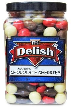 Chocolate Covered Cherries, Chocolate Cherry, Best Burger Buns, Sour Belts, Jordan Almonds, Bing Cherries, Butter Toffee, Italian Spices, Chocolate Coating